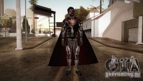 Superman Cyborg v1 для GTA San Andreas второй скриншот