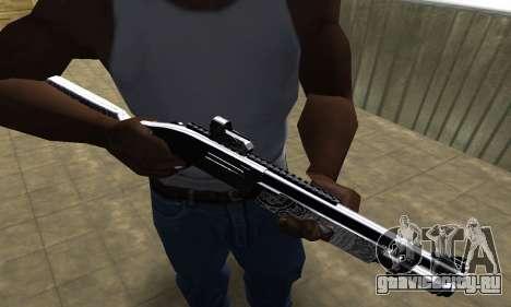 Black Shotgun для GTA San Andreas