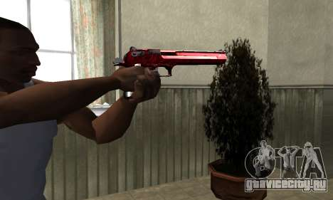 Redl Deagle для GTA San Andreas