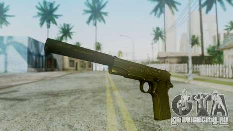 Silenced M1911 Pistol для GTA San Andreas