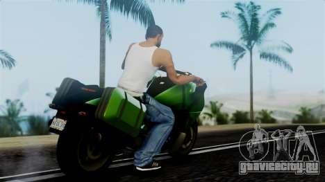 Dinka Vindicator GTA 5 Plate для GTA San Andreas вид слева