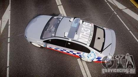 Ford Falcon FG XR6 Turbo Highway Patrol [ELS] для GTA 4 вид справа
