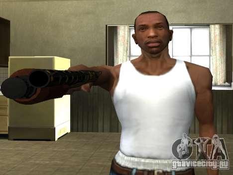 GTA 5 Sawed-Off Shotgun для GTA San Andreas третий скриншот
