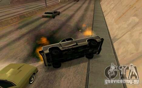 Burning car mod from GTA 4 для GTA San Andreas пятый скриншот