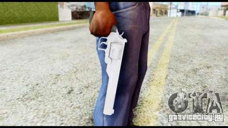 Desert Eagle from Resident Evil 6 для GTA San Andreas третий скриншот