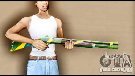 Brasileiro Shotgun для GTA San Andreas третий скриншот
