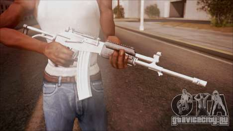 Galil AR v1 from Battlefield Hardline для GTA San Andreas третий скриншот