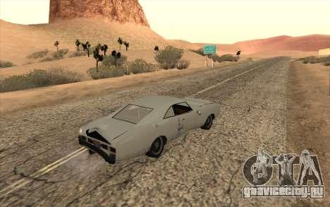 Imponte Dukes SA Style для GTA San Andreas вид сзади