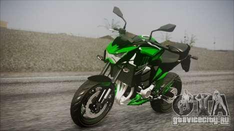Kawasaki Z800 Monster Energy для GTA San Andreas