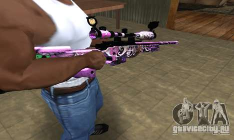 Neon Sniper Rifle для GTA San Andreas