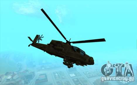 Hunter из Vice City для GTA San Andreas вид слева