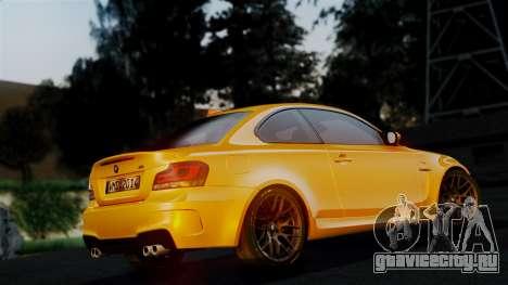BMW 1M E82 v2 для GTA San Andreas вид сверху