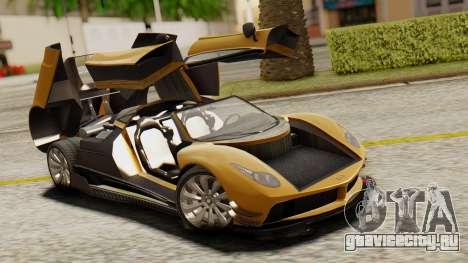 Pegassi Osyra Extra 2 для GTA San Andreas вид сбоку