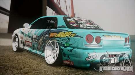 Nissan Skyline ER34 GT-Shop для GTA San Andreas