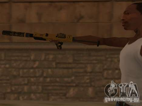 Micro SMG для GTA San Andreas третий скриншот