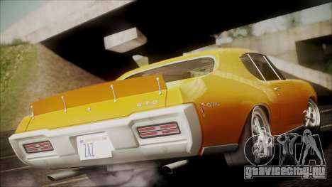 Pontiac GTO 1968 для GTA San Andreas вид слева