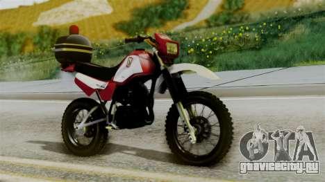 Yamaha DT 180 BM-RS для GTA San Andreas