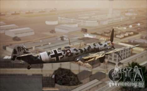 Messerschmitt BF-109 E3 для GTA San Andreas вид сзади слева