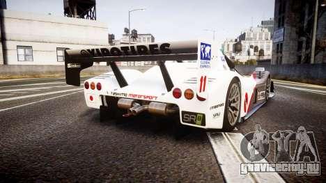 Radical SR8 RX 2011 [11] для GTA 4 вид сзади слева