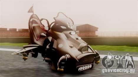 NRG Moto Jet Buzz Dirt Model для GTA San Andreas