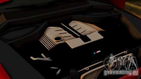 BMW 7 Series F02 2013 для GTA San Andreas вид снизу