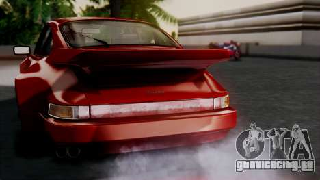 Porsche 911 Turbo (930) 1985 Kit A для GTA San Andreas салон