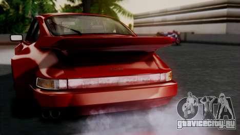 Porsche 911 Turbo (930) 1985 Kit A для GTA San Andreas салон