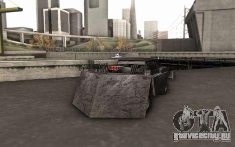 Dodge Charger Infernal Bulldozer для GTA San Andreas