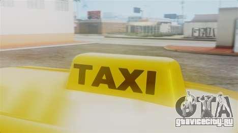 Stratum Taxi для GTA San Andreas вид справа
