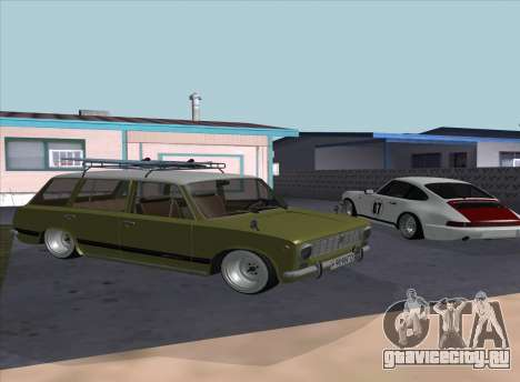 ВАЗ 2102 Ресто для GTA San Andreas вид сзади слева