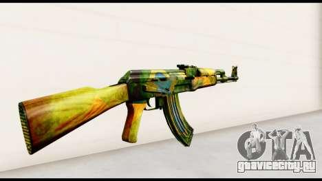 Brasileiro AK-47 для GTA San Andreas второй скриншот