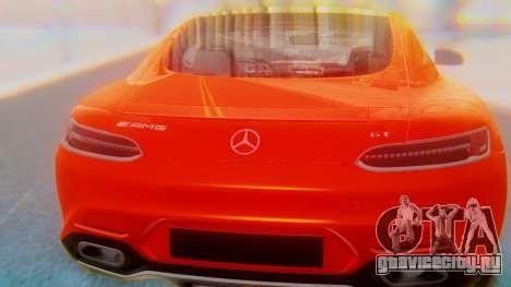 Mercedes-Benz SLS AMG GT для GTA San Andreas вид изнутри