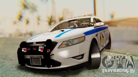 Ford Taurus Iraq Police v2 для GTA San Andreas