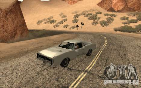 Imponte Dukes SA Style для GTA San Andreas вид справа