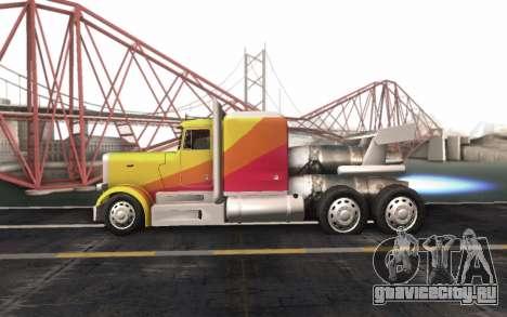 ShockWave Jet Truck для GTA San Andreas вид справа