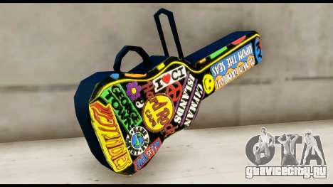Guitar Case MG Colorful для GTA San Andreas второй скриншот
