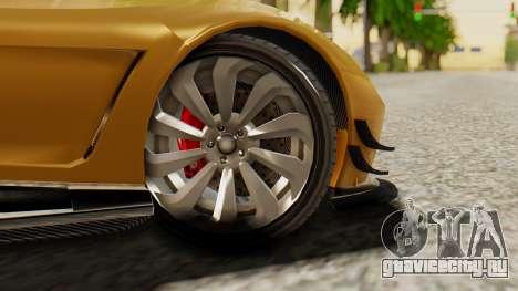 Pegassi Osyra Extra 2 для GTA San Andreas вид сзади слева