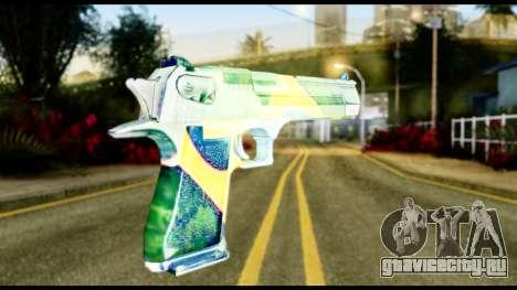 Brasileiro Desert Eagle для GTA San Andreas второй скриншот