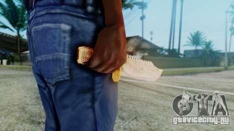 Red Dead Redemption Knife для GTA San Andreas третий скриншот
