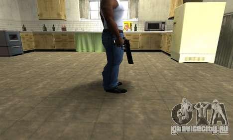 Black Cool Deagle для GTA San Andreas второй скриншот