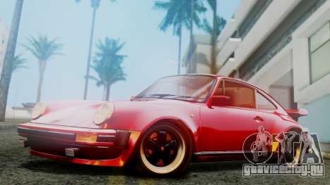 Porsche 911 Turbo (930) 1985 Kit A для GTA San Andreas вид слева