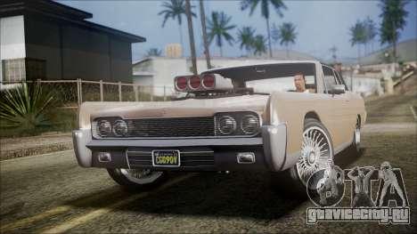 GTA 5 Vapid Chino IVF для GTA San Andreas