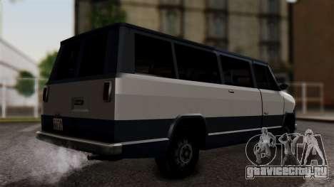 El Passa Van для GTA San Andreas вид слева