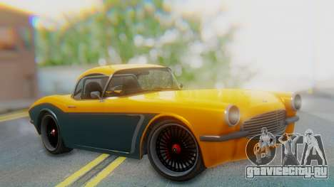 Invetero Coquette BlackFin Not Convertible для GTA San Andreas
