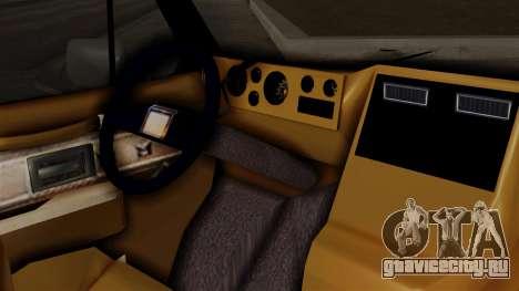 Chevrolet Chevy Van G20 Paraguay Police для GTA San Andreas вид справа