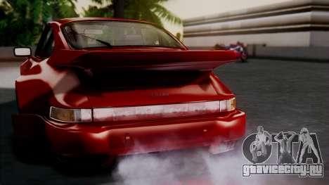 Porsche 911 Turbo (930) 1985 Kit A для GTA San Andreas двигатель