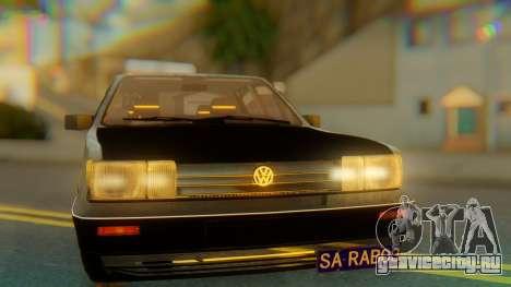 Volkswagen Santana Gz для GTA San Andreas вид сзади
