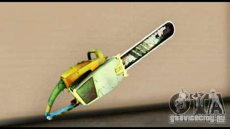 Brasileiro Chainsaw для GTA San Andreas второй скриншот