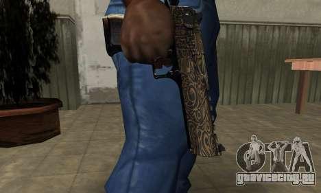 Brown Jungles Deagle для GTA San Andreas второй скриншот