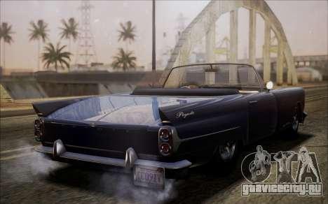 GTA 5 Vapid Peyote для GTA San Andreas вид сзади слева